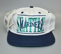 Seattle Mariners The Game MLB Vintage 90's Adjustable Snapback Cap Hat - NWT