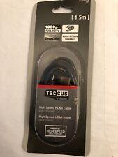 *High Speed HDMI TECCUS cable by VIVANCO  4K/3D/1080p HDMI connector HDMI 1.5m*