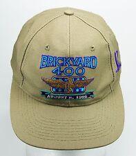 Vintage1995 Brickyard 400 Indy NASCAR Embroidered Snapback Trucker Baseball Hat