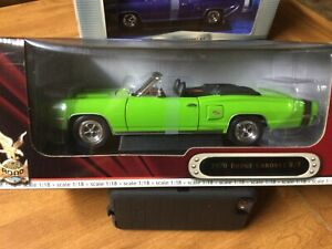 1/18 YatMing 1970 Dodge Coronet RT  conv. Green Go MIB