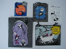5 DIFF ORIGINAL VINTAGE NEW 1993 NBC NIGHTMARE  BEFORE CHRISTMAS GIFT PARTY BAGS