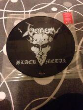 "VENOM "" BLACK METAL "" PICTURE DISC 2002 EARMARK RARE VINYL LP SLAYER DEATH  ..."
