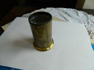Vintage Brass Lens