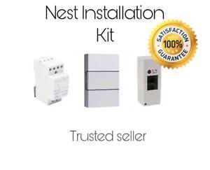 🌟 Nest Hello Complete Installation Kit 24V Transformer & Chime & Enclosure🌟
