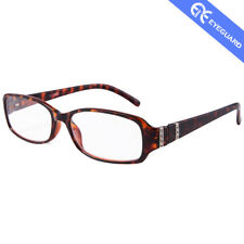 EYEGUARD Readers Bright Crystal Design Clear Women Reading Glasses Lady Case