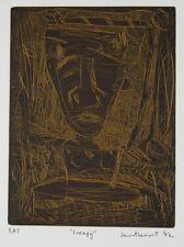 David LARWILL Frenzy wall art print original abstract signed