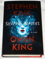 STEPHEN KING HAND SIGNED AUTOGRAPHED SLEEPING BEAUTIES 1ST ED. W/PROOF+FLYER+COA