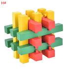 Drôle QI 3D en bois Casse-tête Burr Puzzle Game Interlocking jouet pour adultes