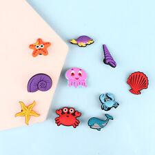 10pcs Shoe Charms Accessories Animal Cartoon Shoe Buckle Decorations Kids G^lk