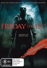Friday the 13th (Extended Cut) * NEW DVD * Jared Padalecki (Region 4 Australia)