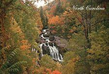 Cullasaja Falls near Franklin Nantahala, North Carolina NC, Waterfall - Postcard