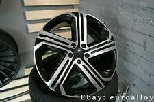 New 18 inch 5x112 VW R400 style rims for Golf Jetta Passat GTI R wheels Alloy