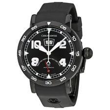Chronoswiss Timemaster Black Dial Automatic Mens Retrograde Watch
