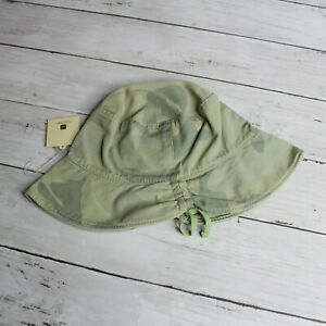 Gap Baby Girl Canvas Bucket Hat Infant Size XS S 12-24 Months Green Camo