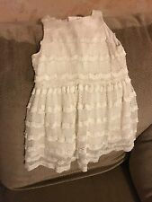 Toddler Cherokee Knitted Dress, Off White, Size 2T Great Condition!