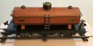 A standard gauge ORIGINAL 515 Lionel tanker car