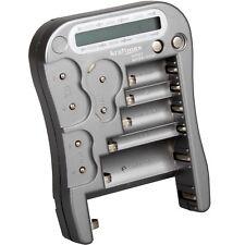 Kraftmax Universal Batterie und Akku Testgerät mit LCD Display - Batterietester