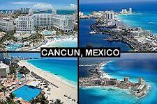 SOUVENIR FRIDGE MAGNET of CANCUN MEXICO