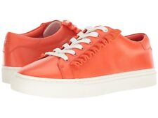77aac183f36 Tory Burch Sport Ruffle Calf Leather Sneaker Size 9 M in Sweet Tangerine