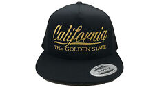 California The  Golden State  Mesh Snapback YUPOONG