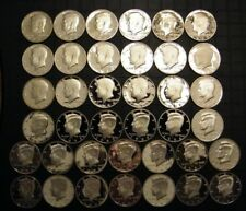 1971-S - 2009-S PROOF Kennedy Half Dollar Clad Collection 38 Coins US Proof Sets