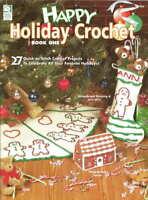 Happy Holiday Crochet #1 Crochet Patterns Christmas Tree Skirts Stockings +