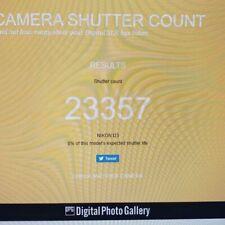 Nikon D3 - Mint condition - Shutter count 23357