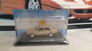 IXO / ALTAYA - 1983 VOLKSWAGEN GACEL GL- 1/43 SCALE MODEL - ARGENTINA COLLECTION
