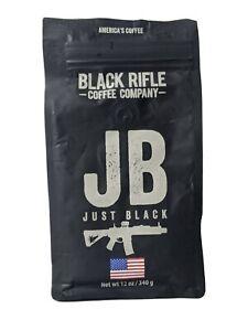 Black Rifle - Just Black Coffee Roast - Medium Blend - Ground Coffee - 12oz Bag
