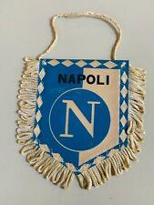 Napoli fanion vintage football banderin pennant wimpel Serie A Calcio