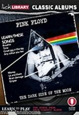 LICK LIBRARY Impara a Suonare Pink Floyd Dark Side of the Moon Chitarra DVD Soldi