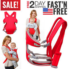 Baby Carrier Sling Babywearing Infant Toddler Newborn Backpack Pouch Wrap Strap