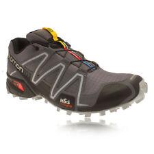 Chaussures gris Salomon pour fitness, athlétisme et yoga