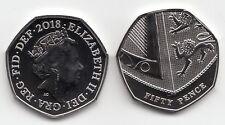 Royal Mint 2018 Royal Shield BU 50p Coin - Brilliant Uncirculated