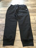 NWT Champion Men's Powerblend Retro Fleece Jogger Pant Black Size XL