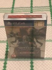 THE WITCHER BLOOD AND WINE ITALIANO NUOVO SIGILLATO PS4 COLLECTOR'S CARTE GWENT