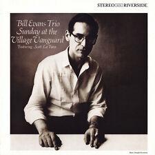 Bill Evans SUNDAY AT THE VILLAGE VANGUARD Original Jazz Classics NEW VINYL LP