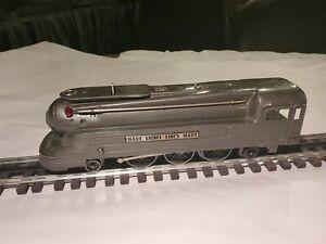 Lionel Pre War #1688E Pre War Gun Metal Steamer Nice Shape Not Running For Parts