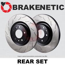 [REAR SET] BRAKENETIC PREMIUM RS SLOTTED Brake Disc Rotors BNP65108.RS