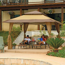 Garden Gazebo Canopy Tent Party Pop Up Vented Outdoor Steel Backyard Patio Deck