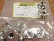 TEE NUT STAINLESS STEEL 5/16-18 MARINE GRADE 00637 10 PAC NUTS BOAT HARDWARE