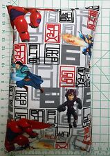 Disney Big Heroes Small Pillow Case with Travel / Toddler Pillow