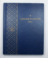 Whitman Book Of Lincoln Head Cent Pennys 1941- No. 9406 Sample Book