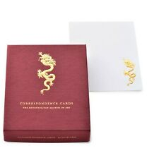 "METROPOLITAN MUSEUM OF ART, ""DRAGON"" EMBOSSED CORRESPONDENCE CARDS, NEW"