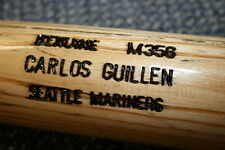 CARLOS GUILLEN GAME USED LOUISVILLE SLUGGER BAT SEATTLE MARINERS