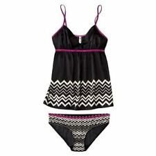 MISSONI FOR TARGET CAMI AND PANTY SET SZ L NWT