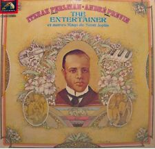 ++ITZHAK PERLMAN/ANDRÉ PREVIN the entertainer SCOTT JOPLIN LP 1975 EMI RARE EX++