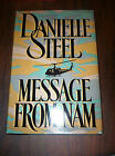 Message from Nam by Danielle Steel (1990, Hardcover, Large Type) store#2517