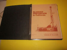 DIVISION OF OIL AND GAS BLOWOUT PREVENTION IN CALIFORNIA BOOK DRILLING