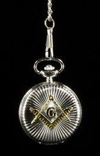 Reloj De Bolsillo - Masonería Estrella de ostens - Caja de regalo reloj